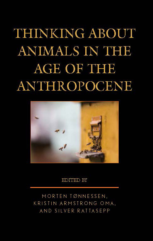 Thinkin About Animals in the Age of the Antropocene Book Cover