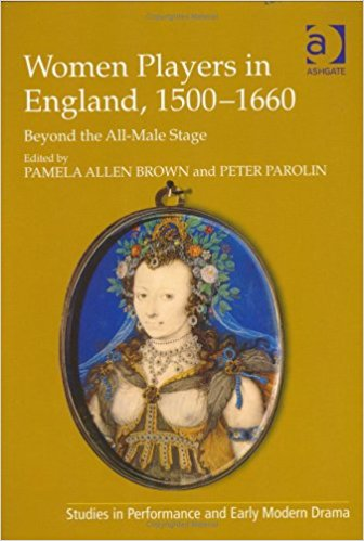 Women Players in England, 1500-1660 Book Cover